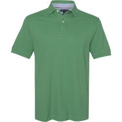 Tommy Hilfiger - Classic Fit Ivy Piqu� Sport Shirt - 13H1867 - Deep Grass Green - 2X-Large found on Bargain Bro Philippines from clothing shop online for $20.90