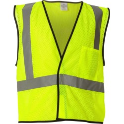 Kishigo - Economy Mesh 1-Pocket Vest - 1193-1194 - Lime - 2XL/3XL found on Bargain Bro Philippines from clothing shop online for $8.82