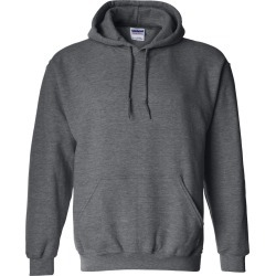 Gildan - Heavy Blend� Hooded Sweatshirt - 18500 - Dark Heather - 2X-Large found on Bargain Bro Philippines from clothing shop online for $15.15
