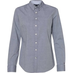 Tommy Hilfiger - Women's Capote End-on-End Chambray Shirt - 13H4377 - Navy Blazer - Small found on Bargain Bro Philippines from clothing shop online for $29.27