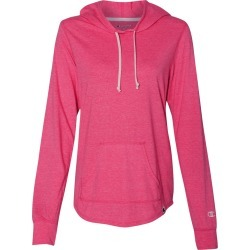 Champion - Women's Originals Triblend Hooded Pullover - AO150 - Lotus Pink Heather - Large found on Bargain Bro Philippines from clothing shop online for $16.94