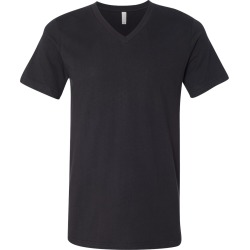 BELLA + CANVAS - Unisex Jersey V-Neck Tee - 3005 - Vintage Black - 2X-Large found on Bargain Bro from clothing shop online for USD $6.10