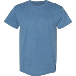 Hanes - Ecosmart� Short Sleeve T-Shirt - 5170 - Heather Blue - Medium found on Bargain Bro Philippines from clothing shop online for $2.66