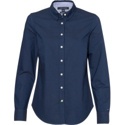 Tommy Hilfiger - Women's New England Solid Oxford Shirt - 13H4378 - Navy Blazer - Large found on Bargain Bro Philippines from clothing shop online for $36.02