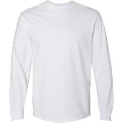 Gildan - Hammer� Long Sleeve T-Shirt - H400 - White - Medium found on Bargain Bro Philippines from clothing shop online for $5.59