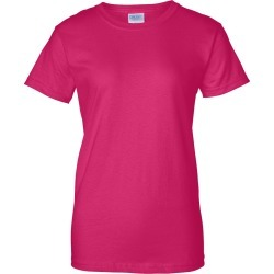 Gildan - Ultra Cotton� Women�s T-Shirt - 2000L - Heliconia - 2X-Large found on Bargain Bro Philippines from clothing shop online for $5.27