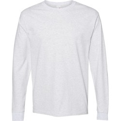 Hanes - ComfortSoft� Long Sleeve T-Shirt - 5286 - Ash - 2X-Large found on Bargain Bro from clothing shop online for USD $4.99