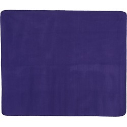 Alpine Fleece - Fleece Throw Blanket - 8700 - Purple - One Size