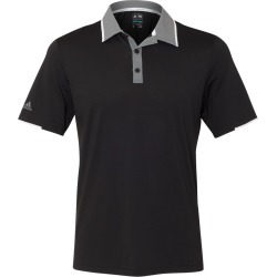 Adidas - Performance Colorblocked Sport Shirt - A166 - Black/ Vista Grey/ White - X-Large found on Bargain Bro from clothing shop online for USD $49.40