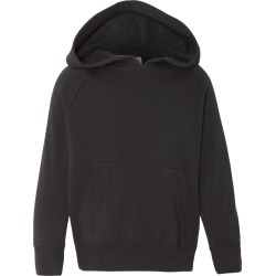 Independent Trading Co. - Toddler Special Blend Raglan Hooded Sweatshirt - PRM10TSB - Black - 2T - 2 Toddler found on Bargain Bro Philippines from clothing shop online for $8.41