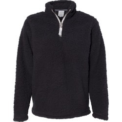 J. America - Women�s Epic Sherpa Quarter-Zip Pullover - 8451 - Black - Medium found on Bargain Bro Philippines from clothing shop online for $30.12