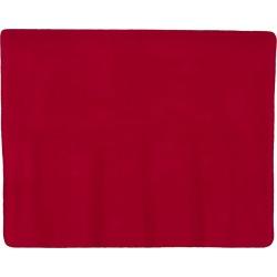 Alpine Fleece - Fleece Throw Blanket - 8700 - Red - One Size