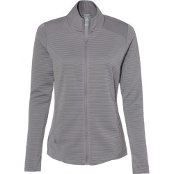 Adidas - Women's Textured Full-Zip Jacket - A416 - Grey Three - 2X-Large found on Bargain Bro Philippines from clothing shop online for $75.00