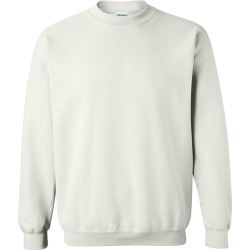 Gildan - Heavy Blend� Crewneck Sweatshirt - 18000 - White - 5X-Large found on Bargain Bro Philippines from clothing shop online for $8.70