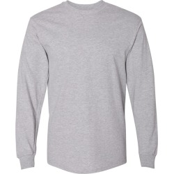 Gildan - Hammer� Long Sleeve T-Shirt - H400 - Sport Grey - 3X-Large found on Bargain Bro Philippines from clothing shop online for $10.62