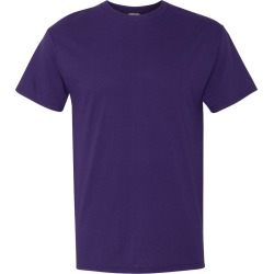 Fruit of the Loom - HD Cotton Short Sleeve T-Shirt - 3930R - Deep Purple - Small found on Bargain Bro from clothing shop online for USD $1.78