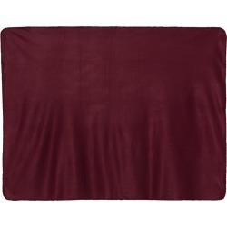 Alpine Fleece - Fleece Throw Blanket - 8700 - Burgundy - One Size