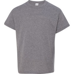 Gildan - Heavy Cotton� Youth T-Shirt - 5000B - Graphite Heather - XS - X-Small found on Bargain Bro Philippines from clothing shop online for $2.24