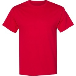 Hanes - Ecosmart� Short Sleeve T-Shirt - 5170 - Deep Red - 2X-Large found on Bargain Bro from clothing shop online for USD $4.29