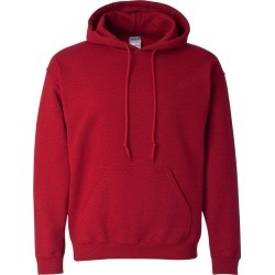 Gildan - Heavy Blend� Hooded Sweatshirt - 18500 - Antique Cherry Red - Small found on Bargain Bro Philippines from clothing shop online for $10.94