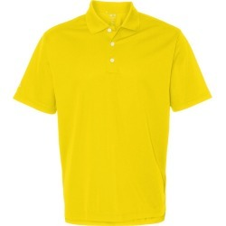 Adidas - Basic Sport Shirt - A130 - Vivid Yellow /White - Small found on Bargain Bro from clothing shop online for USD $38.00