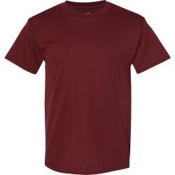 Hanes - Ecosmart� Short Sleeve T-Shirt - 5170 - Maroon - Medium found on Bargain Bro from clothing shop online for USD $1.79