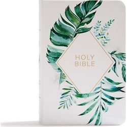 CSB On-The-Go Bible, White Floral Textured Leathertouch found on Bargain Bro India from cokesbury.com US for $24.99