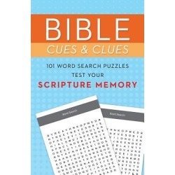 Bible Cues and Clues - 101 Word Search Puzzles Test Your Scripture Memory