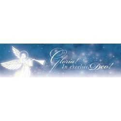 Gloria In Excelsis Deo! Christmas Letterhead - Pack of 100 found on Bargain Bro India from cokesbury.com US for $8.99