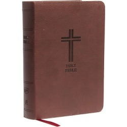 The literary beauty of the King James Version, compact and portable, w found on Bargain Bro India from cokesbury.com US for $14.99