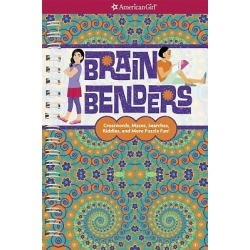 Brain Benders - Crosswords, Mazes, Searches, Riddles, and More Puzzle Fun!