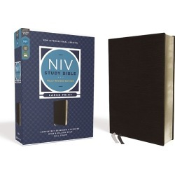 NIV Study Bible, Fully Revised Edition, Large Print, Bonded Leather, B found on Bargain Bro from cokesbury.com US for USD $72.19