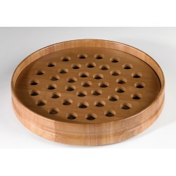 Maple Communion Tray - Pecan Finish - Handcrafted found on Bargain Bro from cokesbury.com US for USD $53.16