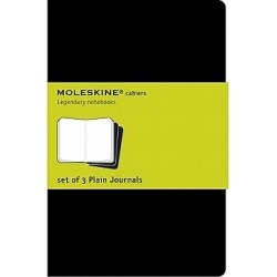 Journals Moleskine Cahiers Plain Set of 3 found on Bargain Bro India from cokesbury.com US for $9.95