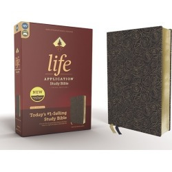 NIV Life Application Study Bible, Third Edition--Bonded Leather, Navy found on Bargain Bro from cokesbury.com US for USD $56.99