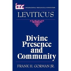 Leviticus - Divine Presence and Community found on Bargain Bro India from cokesbury.com US for $21.50