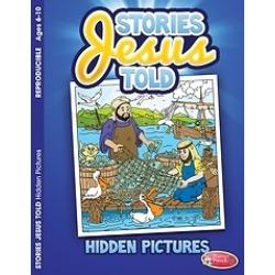 Stories Jesus Told 6pk - Hidden Pictures