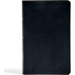 CSB Single-Column Personal Size Bible, Leathertouch Design 1