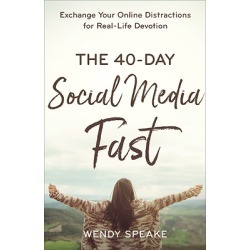 The 40-Day Social Media Fast - Exchange Your Online Distractions for Real-Life Devotion found on Bargain Bro from cokesbury.com US for USD $12.91