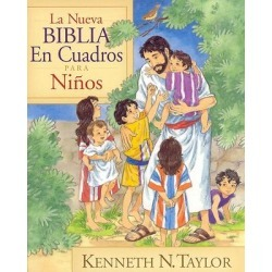 La Nueva Biblia en Cuadros Para Ninos - New Bible in Pictures For Little Eyes found on Bargain Bro India from cokesbury.com US for $16.99