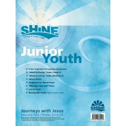 Shine Junior Youth Grade 6-8 Resource PK Winter 2019-20 found on Bargain Bro Philippines from cokesbury.com US for $26.99
