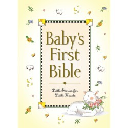 It's never too early to begin to hide God's word in your baby's heart. - Little Stories for Little Hearts found on Bargain Bro India from cokesbury.com US for $8.99