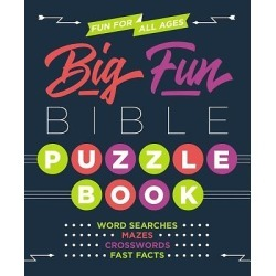 Everyone can have hours and hours of puzzle fun with this book that in found on Bargain Bro India from cokesbury.com US for $12.99