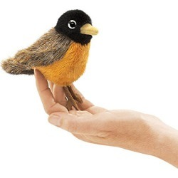Robin Mini Finger Puppet found on Bargain Bro India from cokesbury.com US for $7.99