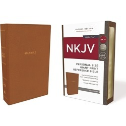 NKJV, Reference Bible, Personal Size Giant Print, Imitation Leather, T found on Bargain Bro India from cokesbury.com US for $19.99