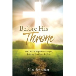 Before His Throne - 365 Days Of Inspirational Prayers, Bringing You Closer To God. found on Bargain Bro Philippines from cokesbury.com US for $20.99
