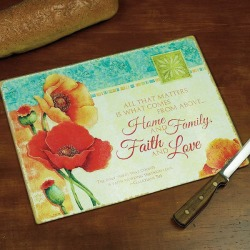 Blooming Blessings Cutting Board