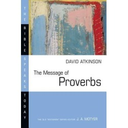 The Message of Proverbs found on Bargain Bro Philippines from cokesbury.com US for $20.00