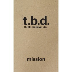 To truly engage your youth in their faith formation, it requires givin - T.B.D.: Think. Believe. Do. found on Bargain Bro India from cokesbury.com US for $6.99