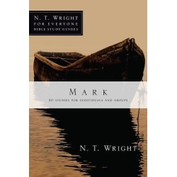 N. T. Wright for Everyone Bible Study Guides - Mark found on Bargain Bro India from cokesbury.com US for $10.00